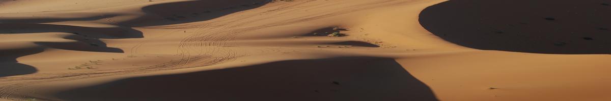 Un mar de arena