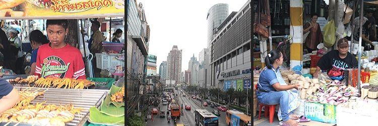 Bangkok centro comercial